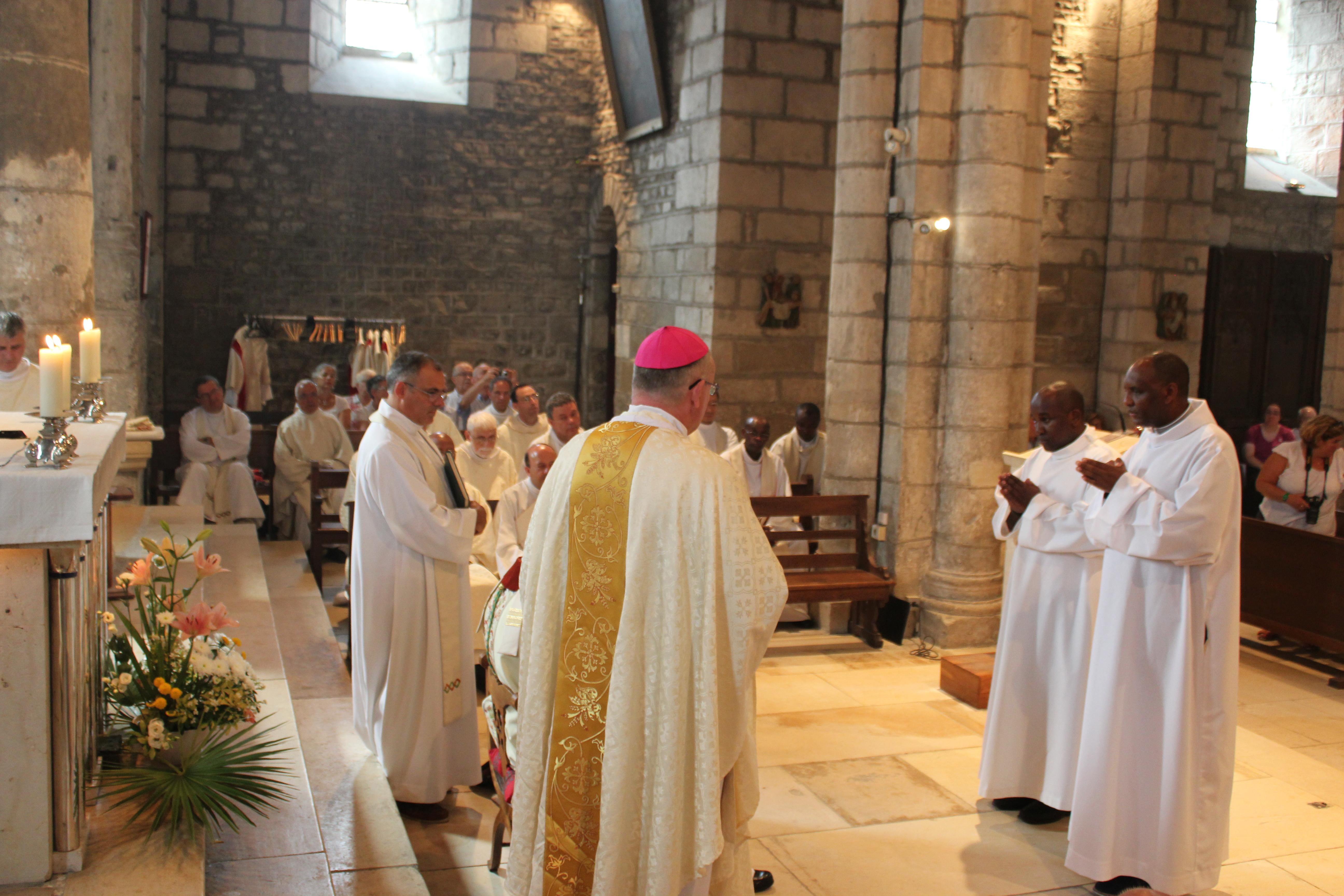 Ordinations diaconales des frères Sébastien et Denis - appel