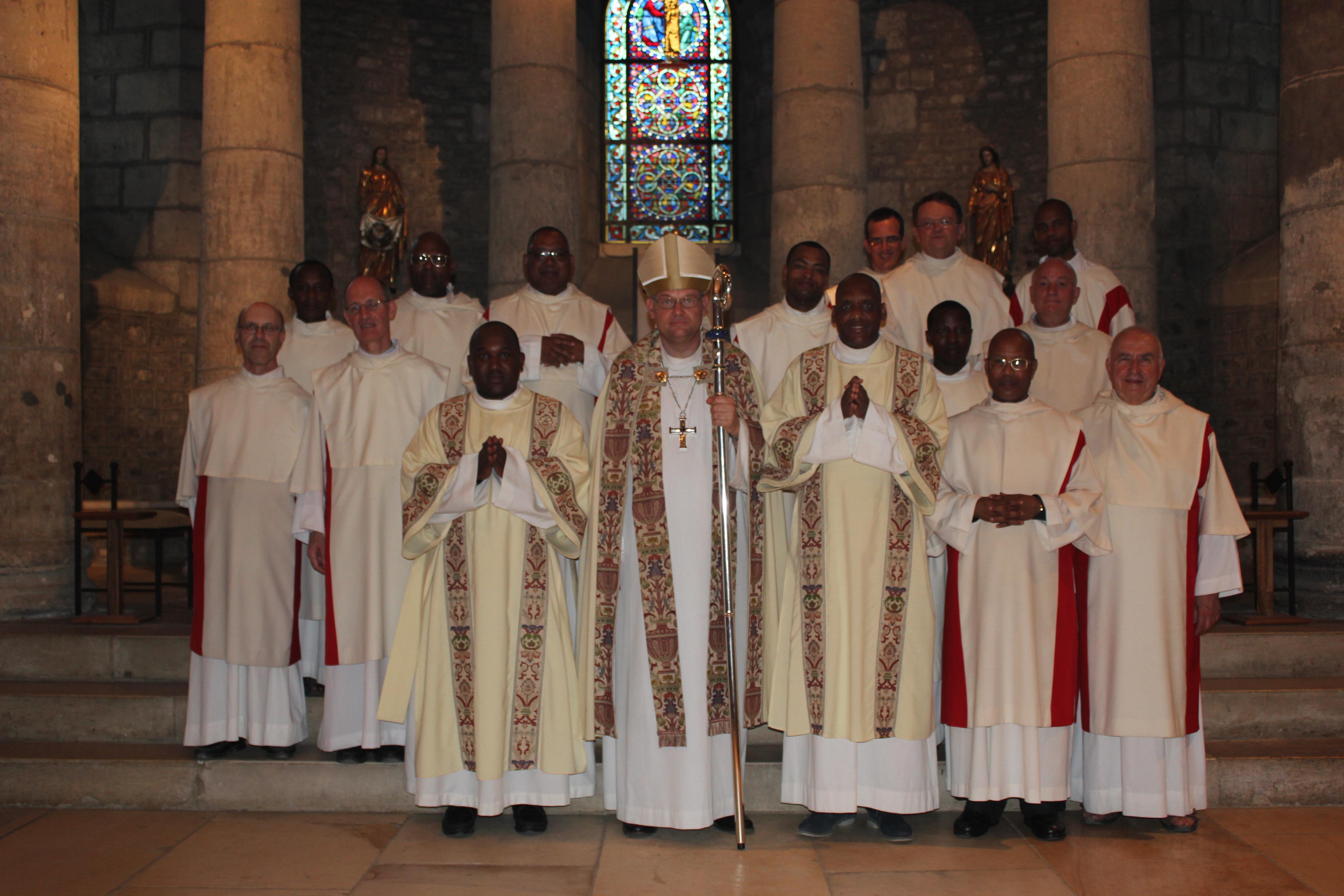 Ordinations diaconales des frères Sébastien et Denis - souvenir