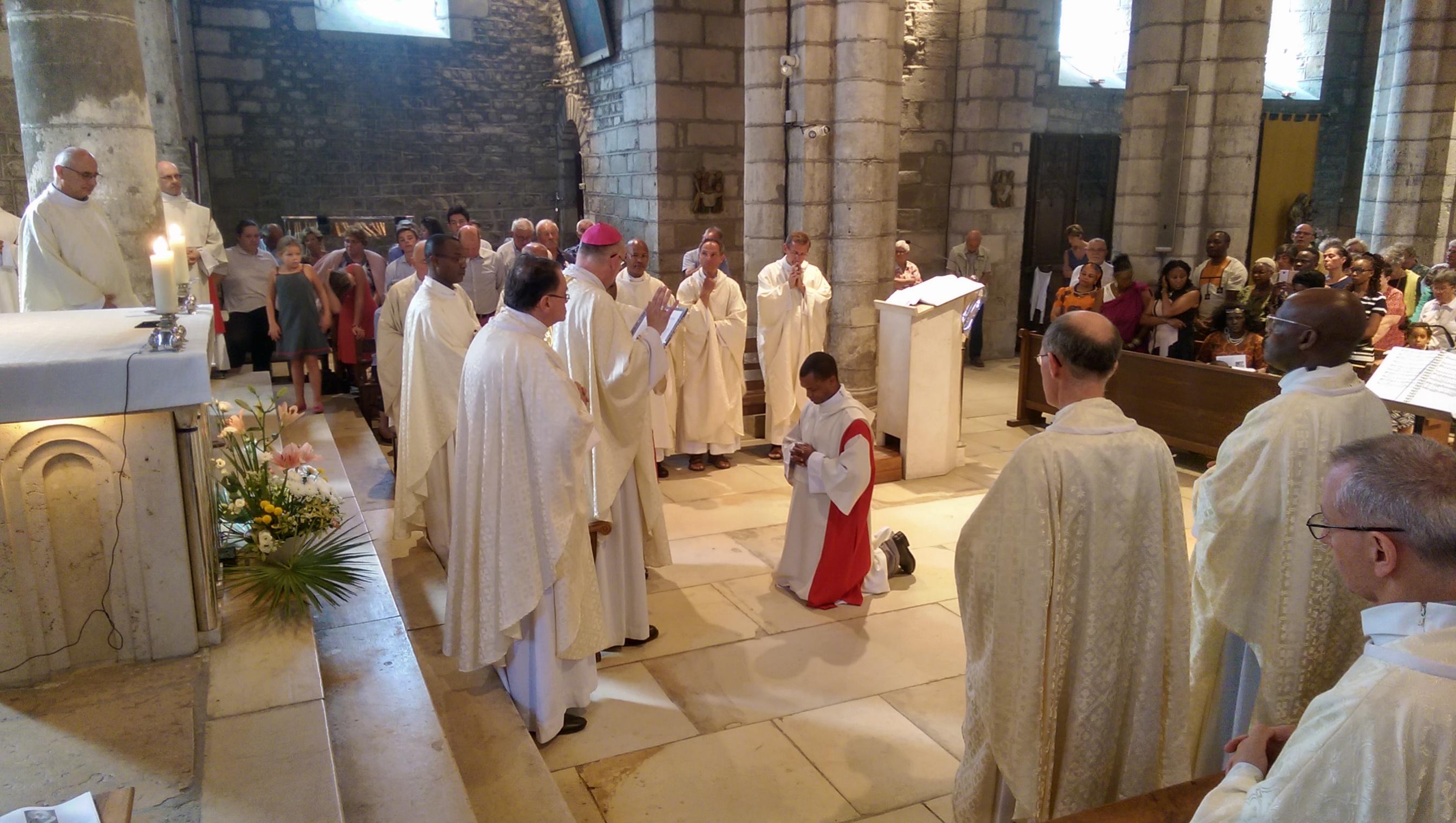 Profession solennelle des voeux du frère Sulpice - Oraison de bénédiction